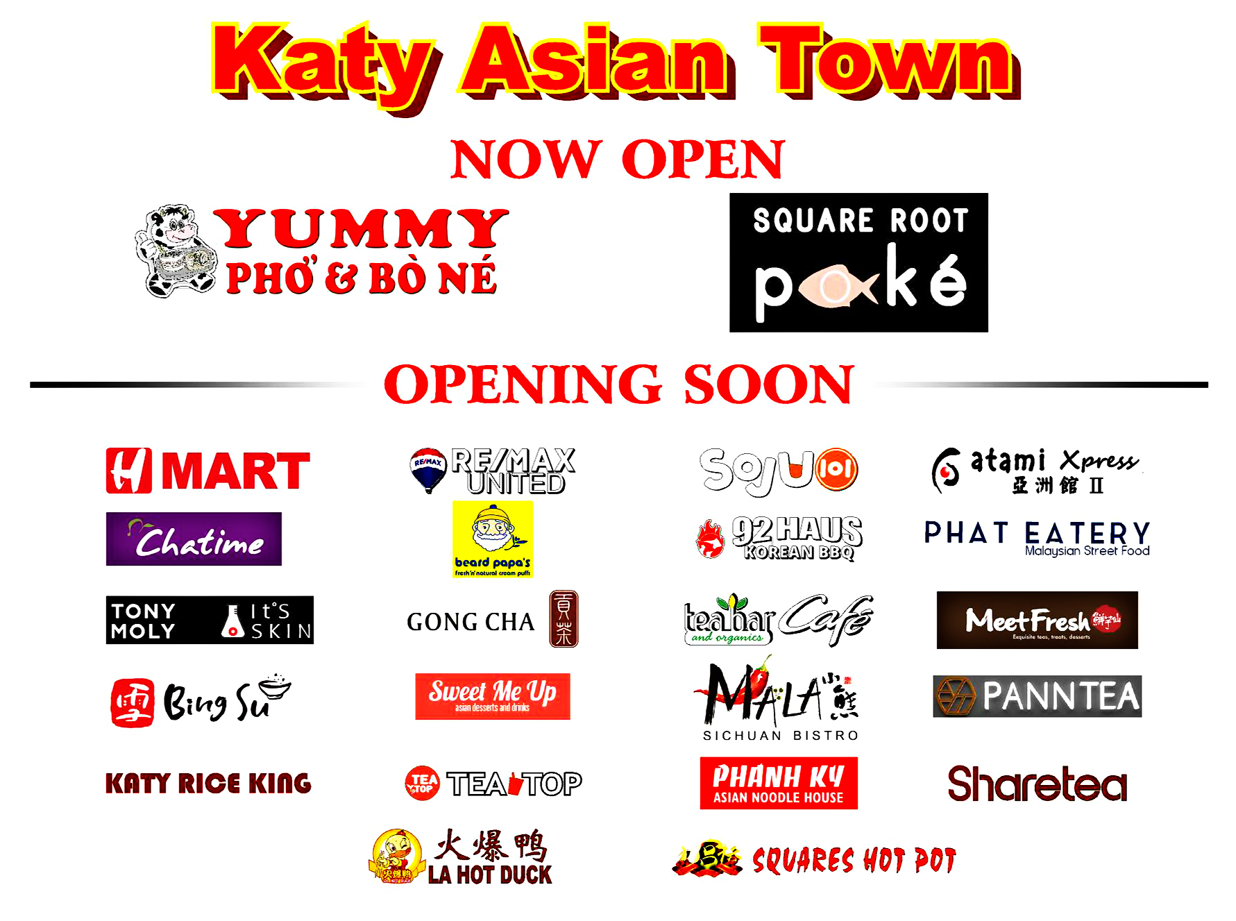 Katy Asian Town gonna be lit homies | TigerDroppings.com